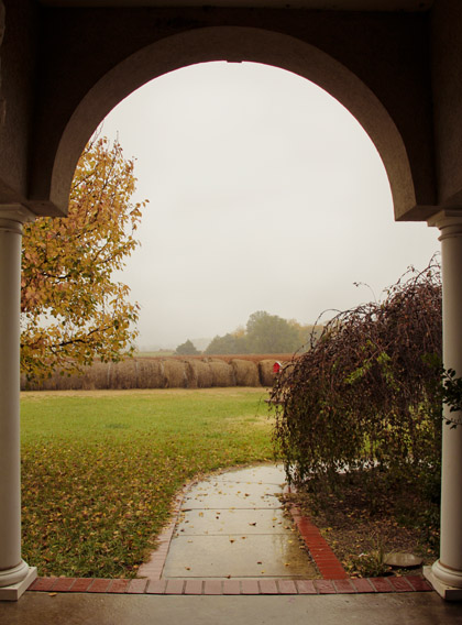 rainy fall morning blog