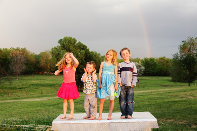 rainbow over kids2