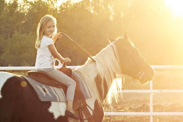horseback lessons 11 looking at camera