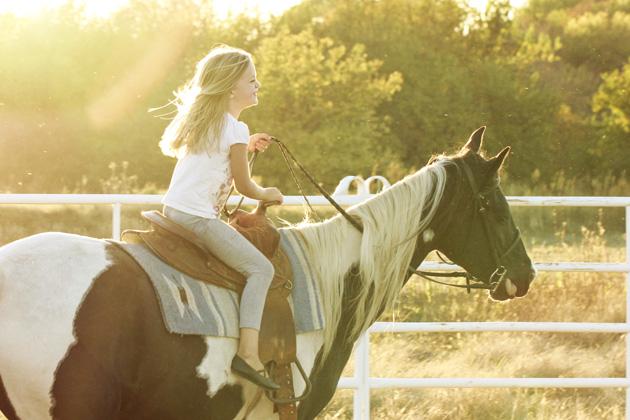 horseback lessons 8 little smile